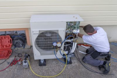 Heat pump repair in New Albany.