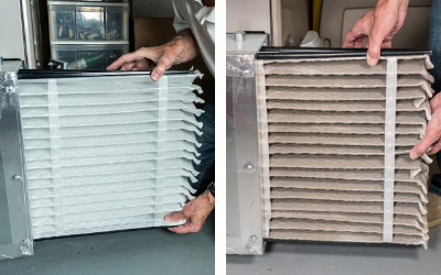 Regularly changing your AC filter will keep the air conditioning in your New Albany, IN home running efficiently.